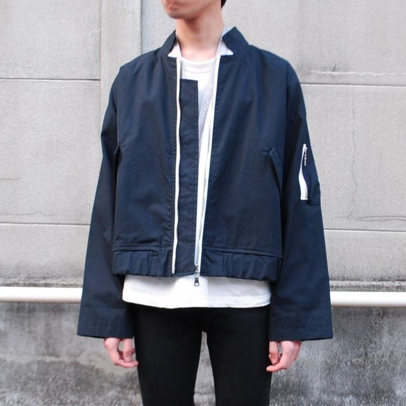 ANITYA/flight  jacket(navy)
