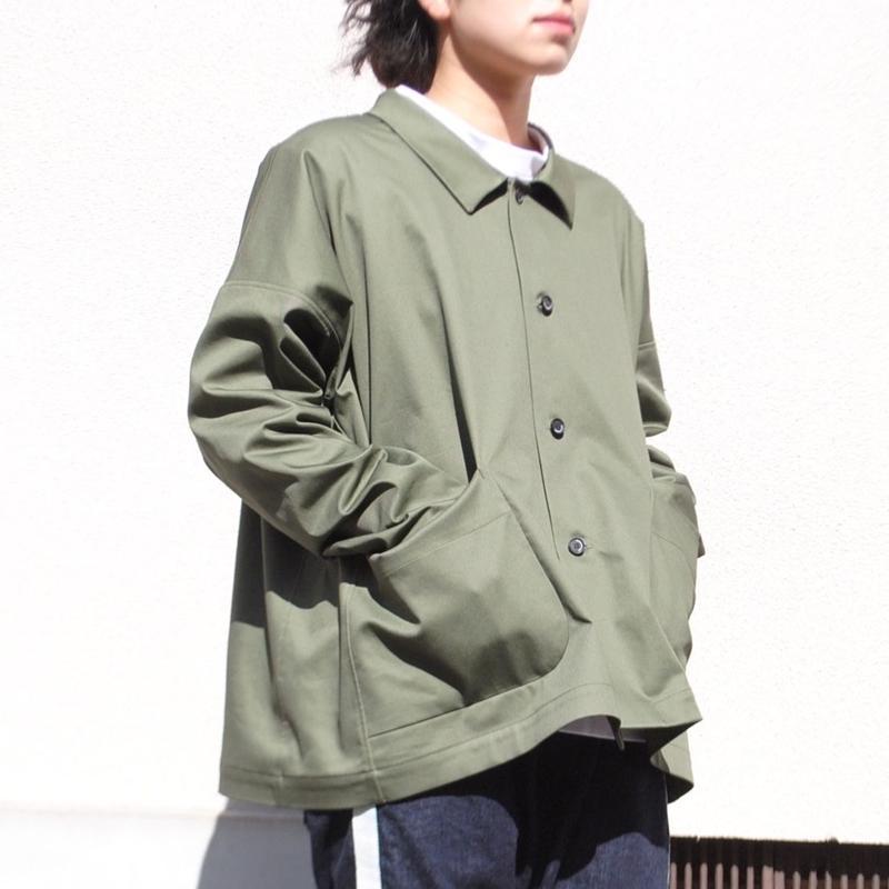 Hiroyuki Watanabe/Chino jacket(khaki)