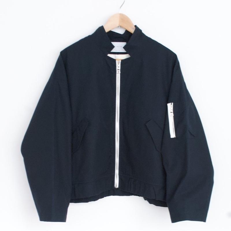 ANITYA/flight  jacket(navy・SIZE 1.2.3)