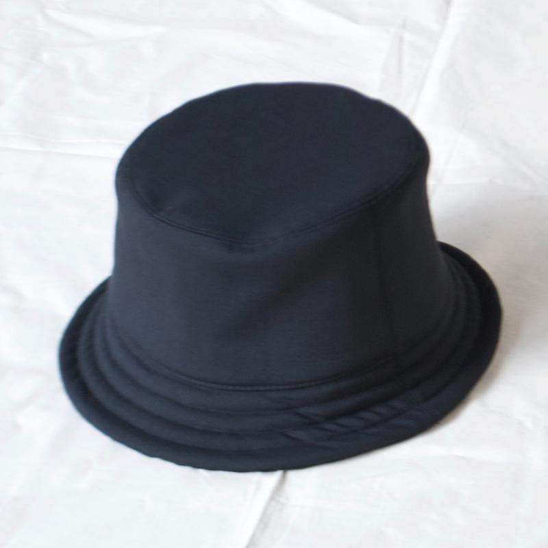 mitake/soft bucket hat( black)