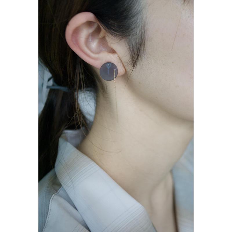 MMAA/oto 16 pair pierce・earring (navy)