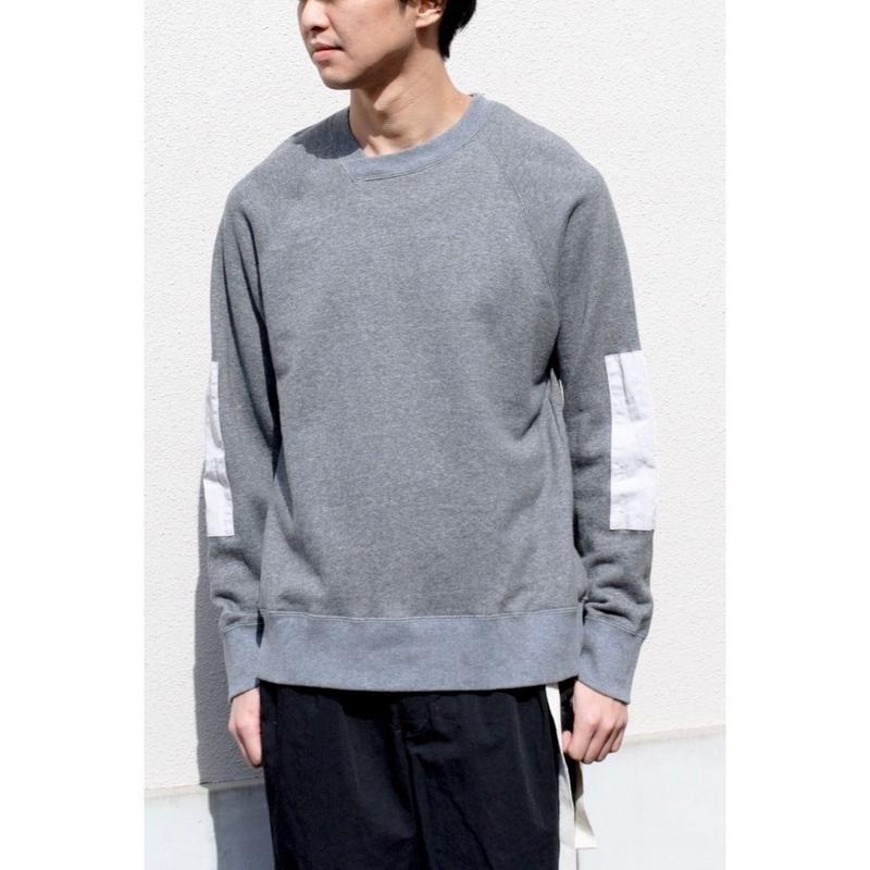 ANITYA/y-neck pullover(gray)