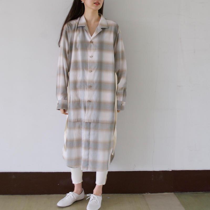 ANITYA/Gown Shirt(beige)