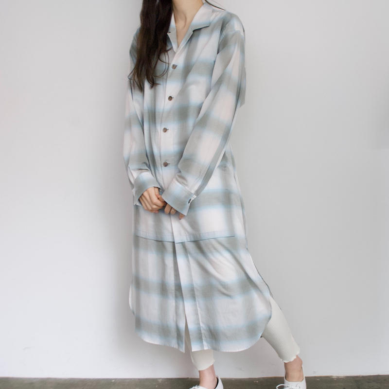 ANITYA/Gown Shirt(blue)