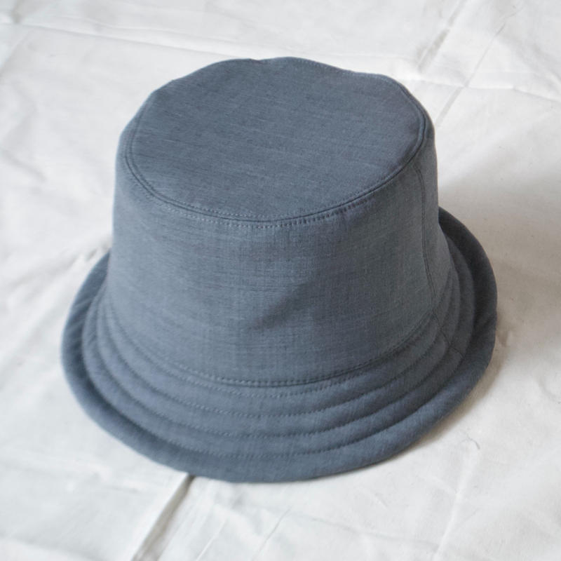mitake/soft bucket hat( gray)