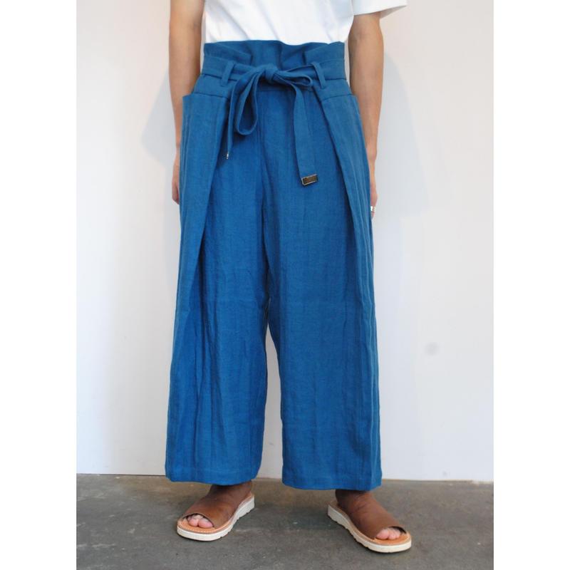 "rikolekt/""late summer""マキパンツ(blue)"
