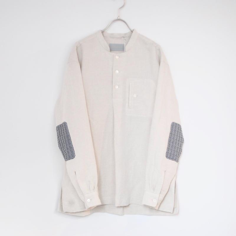 "rikolekt/""linen"" shirt(kinari)"