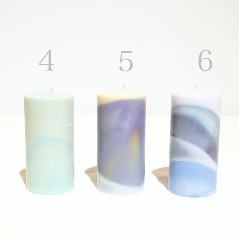 c'è c'è/soywax candle   ( SIZE a ・flower)