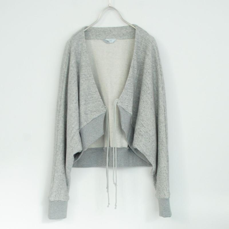 3tsui/スエットボレロ( gray)