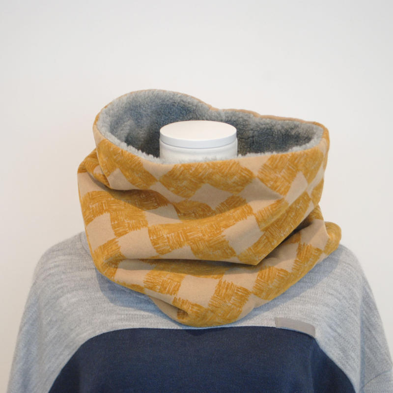 "rikolekt/""frosty""snood ( beige)"