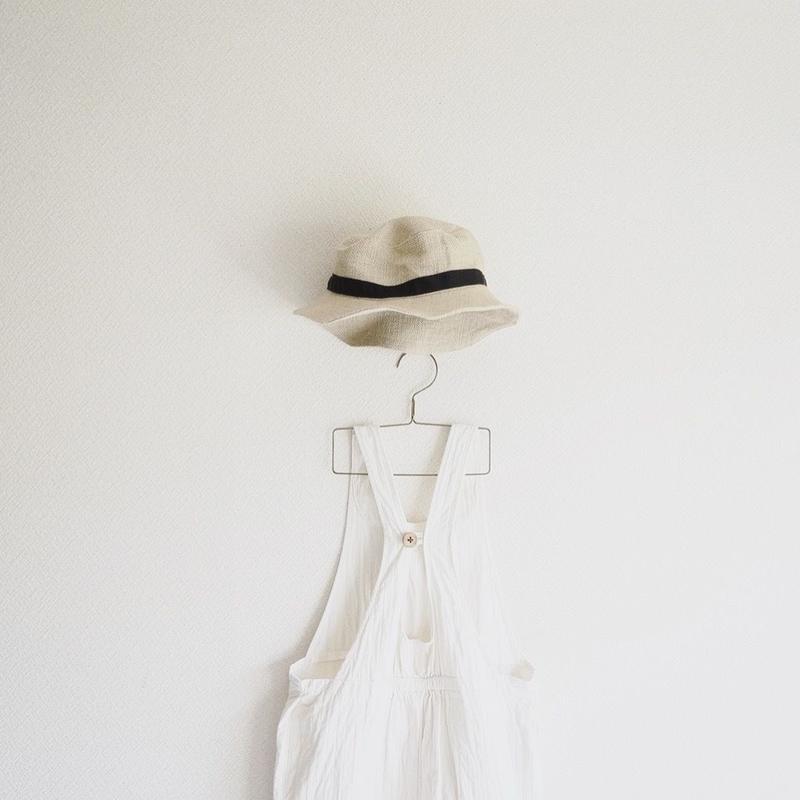麻の帽子 size2