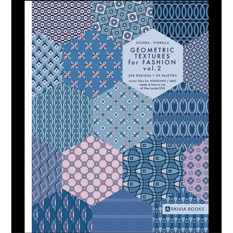 GEOMETRIC TEXTURES FOR FASHION  VOL,2