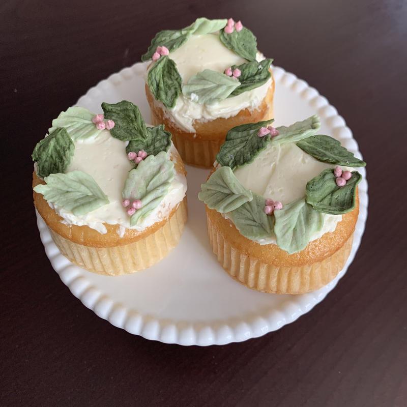リース カップケーキ