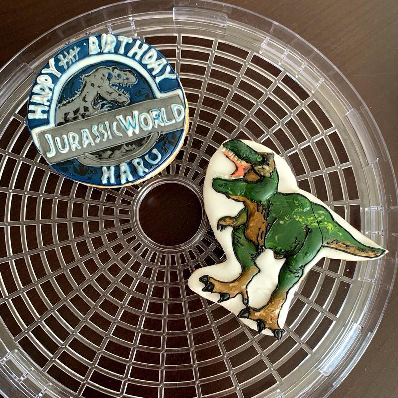 恐竜 ジュラシックワールド アイシングクッキー