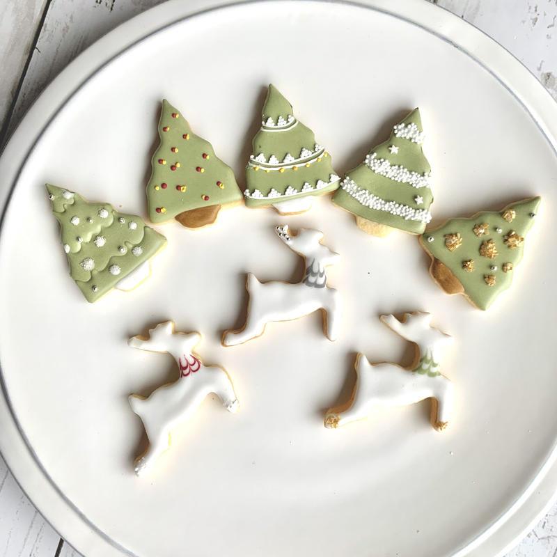 クリスマスアイシングクッキー ツリー