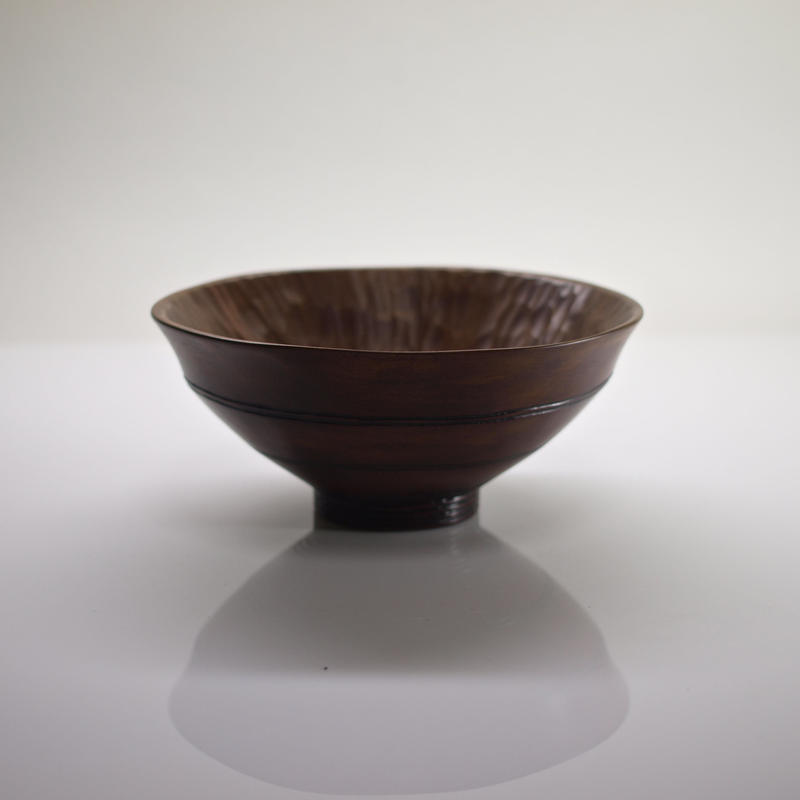 柿の蔕形茶椀「竹節」
