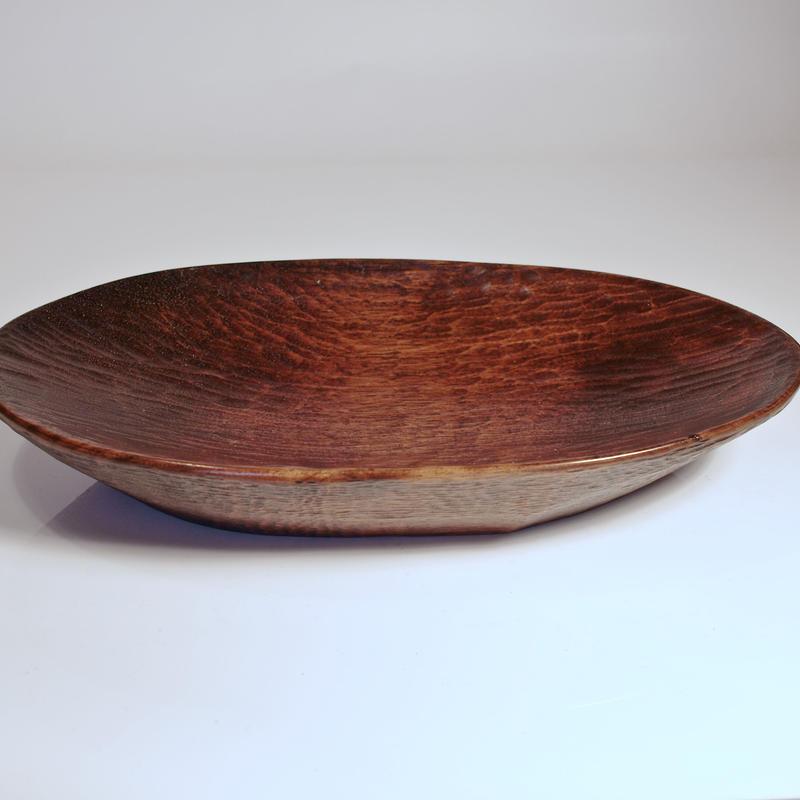 胡桃のオーバル皿