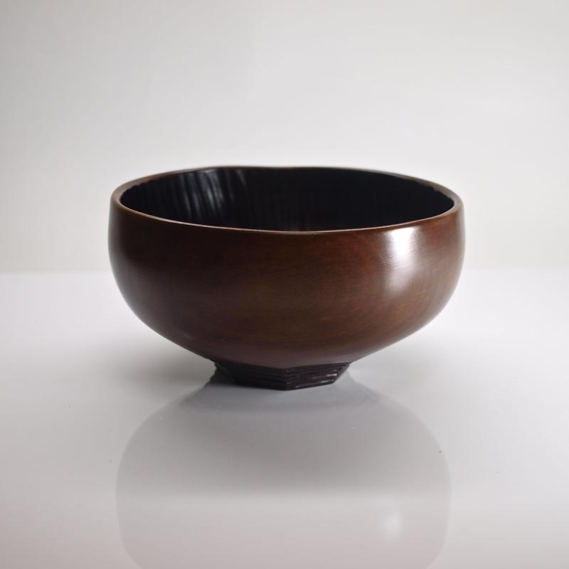 輪形茶椀「大器晩成」