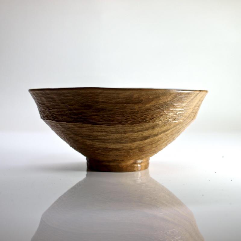 柿の蔕形茶椀「なぎの海」