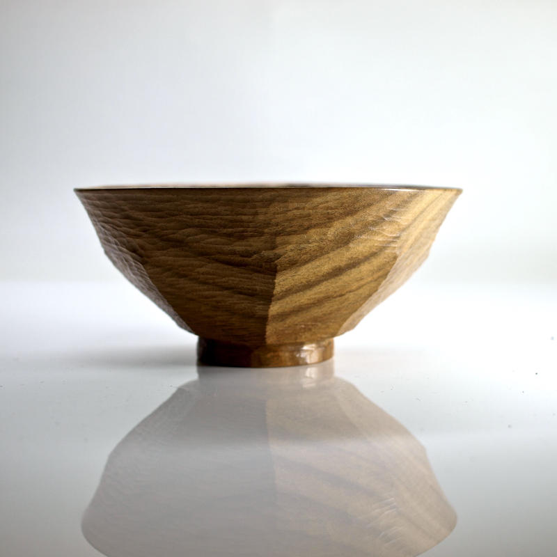 柿の蔕形茶椀「八角」