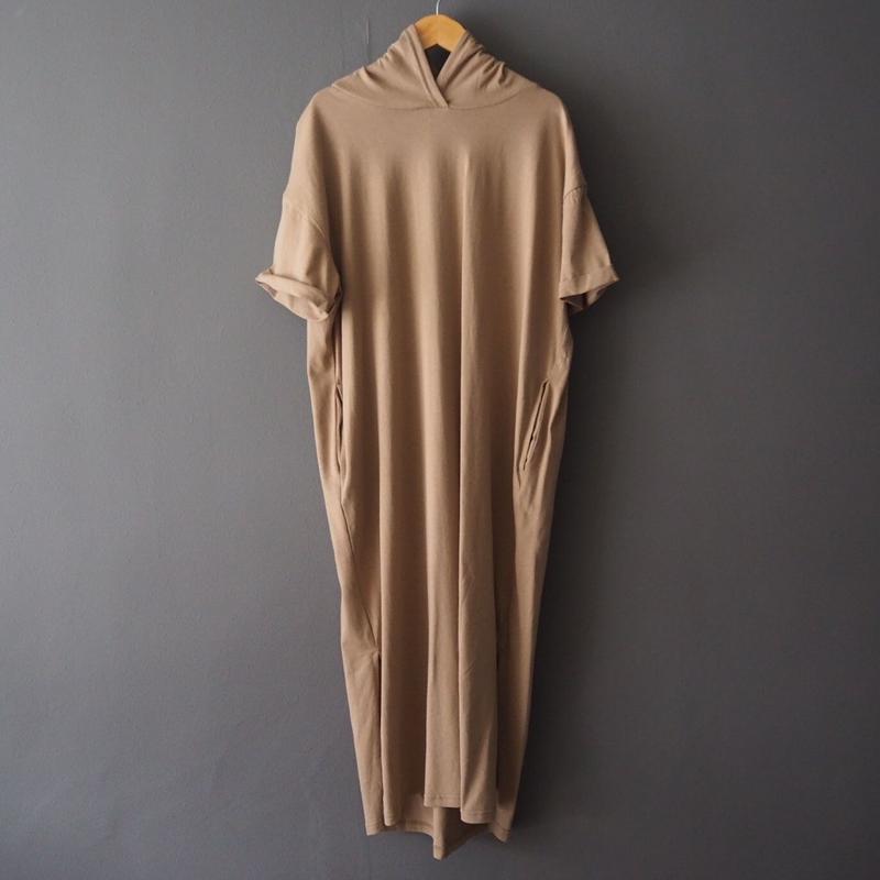 hoodie dress BEIGE