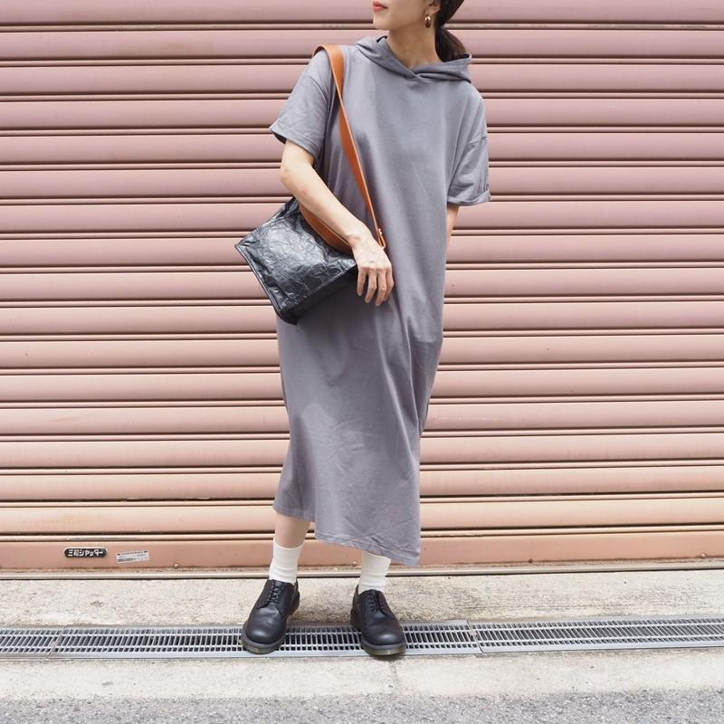hoodie dress GRAY