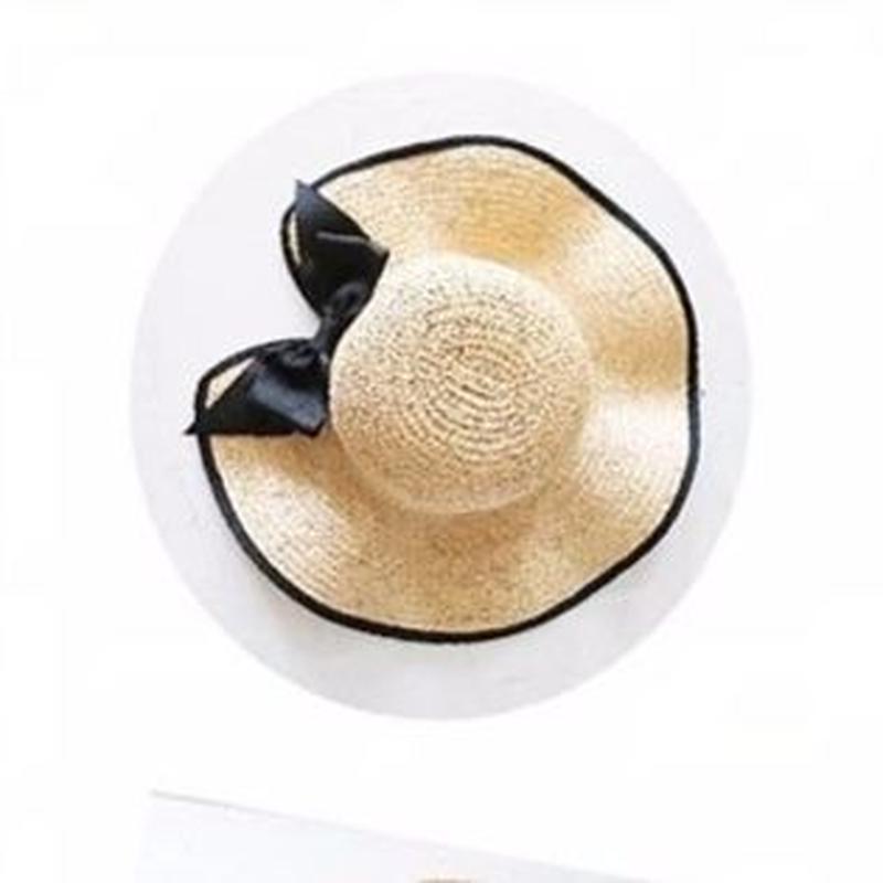 piping ribbon hat