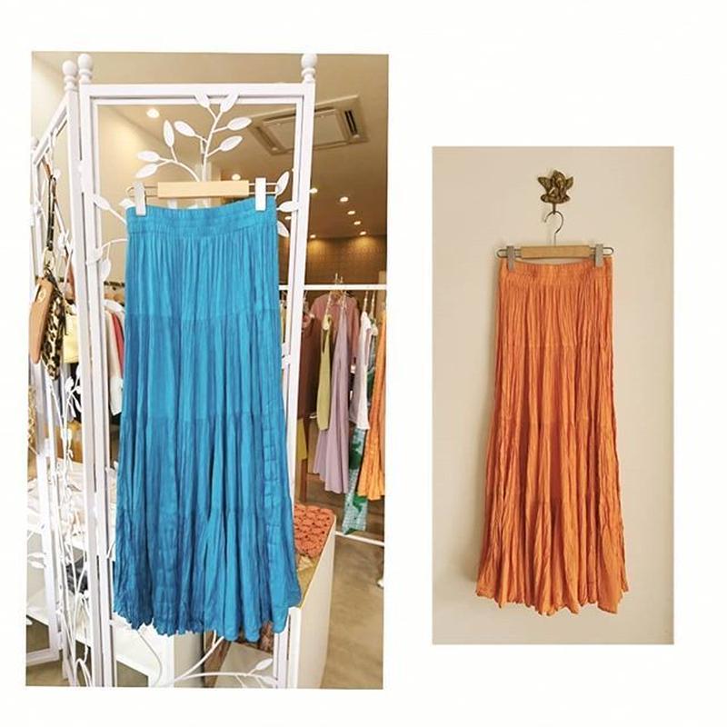 long color skirt