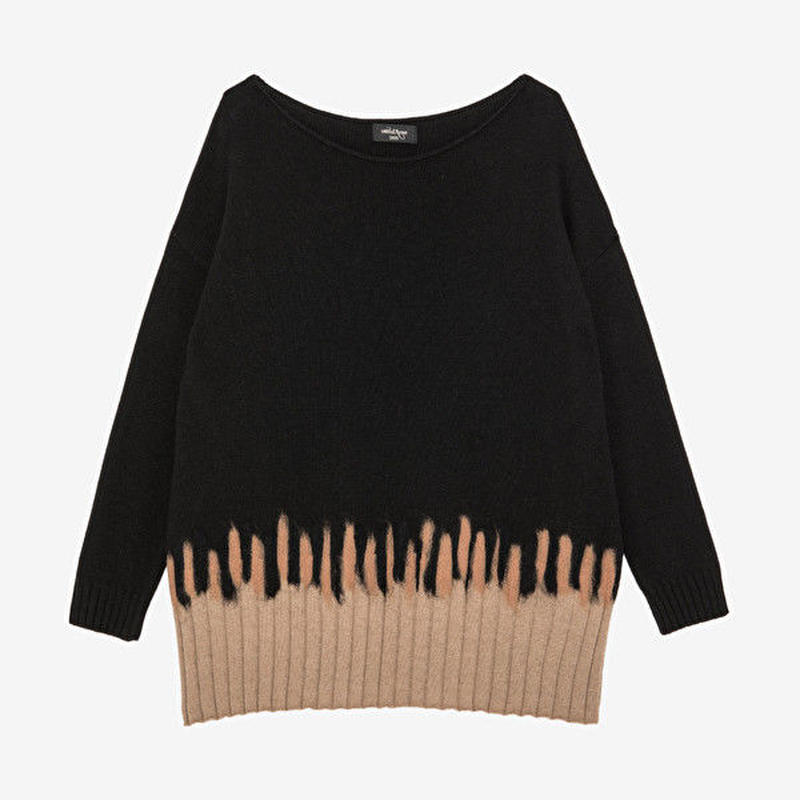 boat neck knit