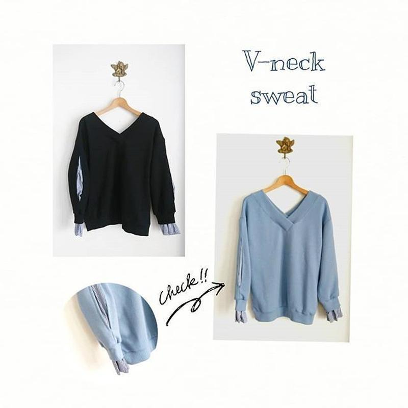 Vneck sweat