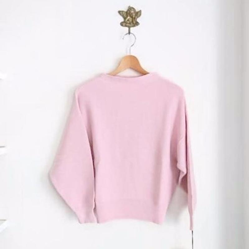 bottle neck knit