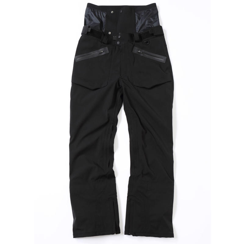 COM-06 STRAIGHT Pants. 《#1 BLACK 4way》