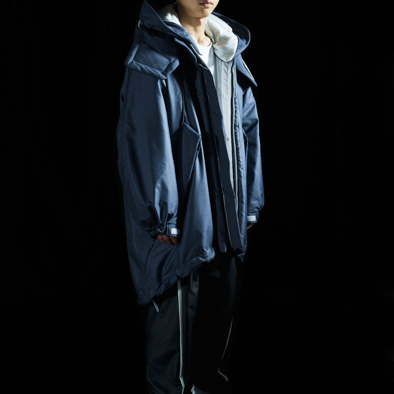[Preorder] Shelter Coat (Vaio Navy)