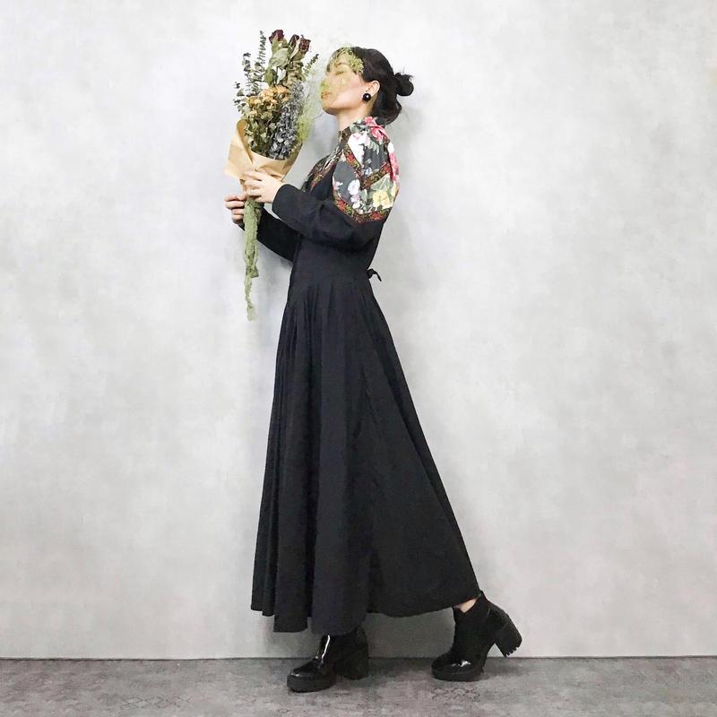 MENU vitage black dress