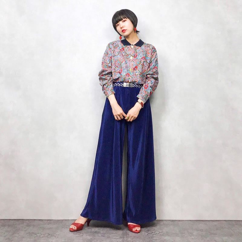 Sporutiono flower pattern shirt