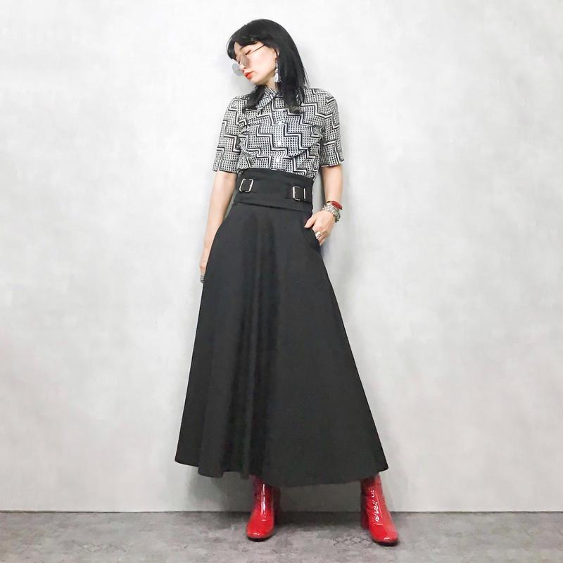 emma black rétro shirt