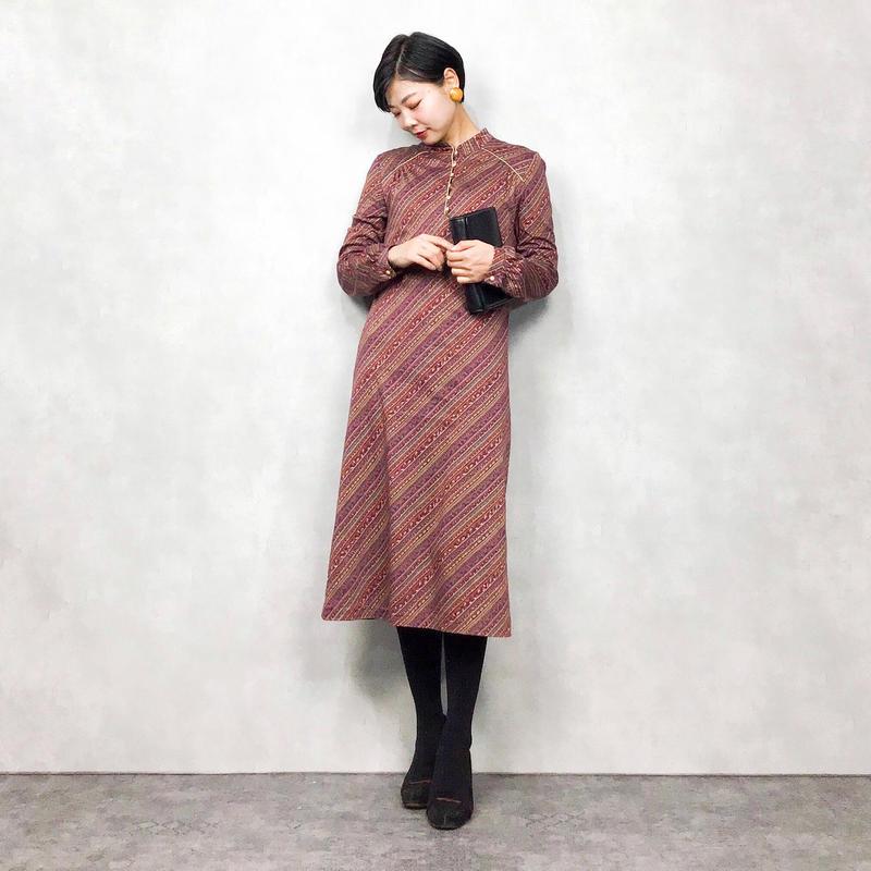 China pattern dress