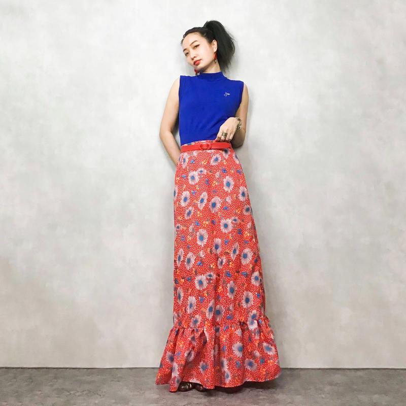 OBER STOFF tropical  flower skirt