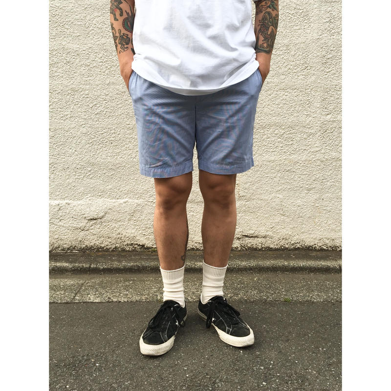 Dead Stock / Polo Ralph Lauren / Seersucker Shorts  / Blue