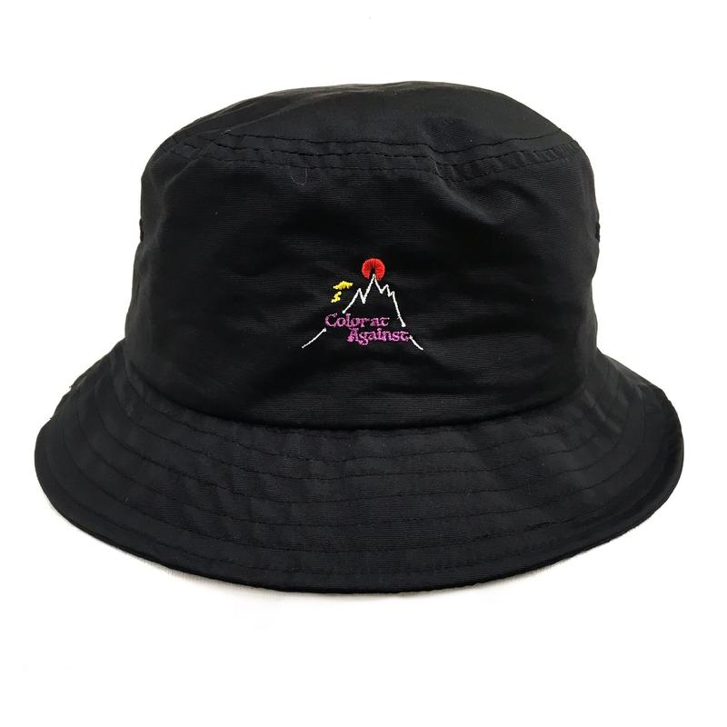 Color at Against Original /  Hotspot Bucket Hat / Black
