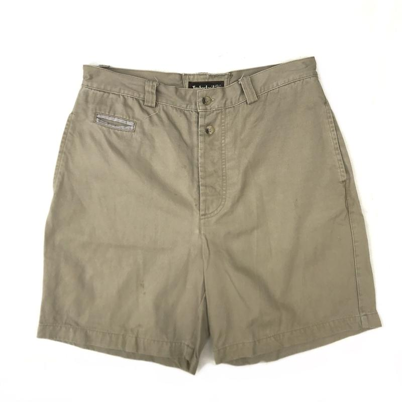Timberland / Cotton Shorts  / Beige / Used