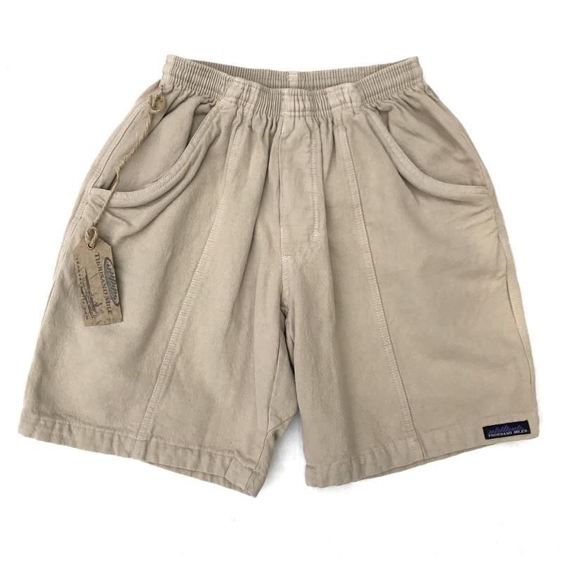 Made in USA / Dead Stock / Thousand Mile /Cotton Shorts / Beige