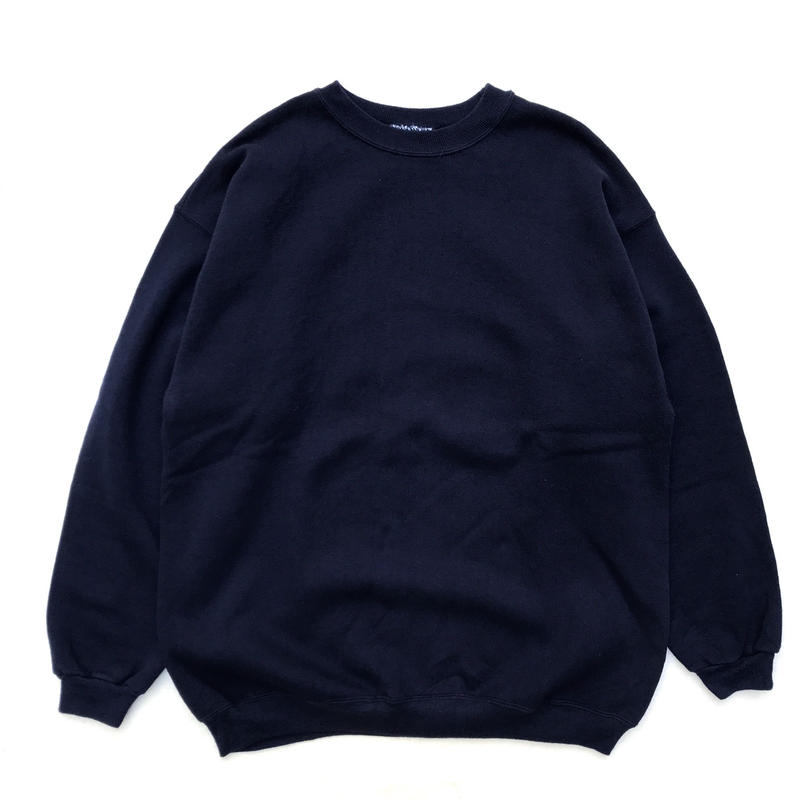Made in USA  / Hanes / Crew Neck Sweat / Navy / Used