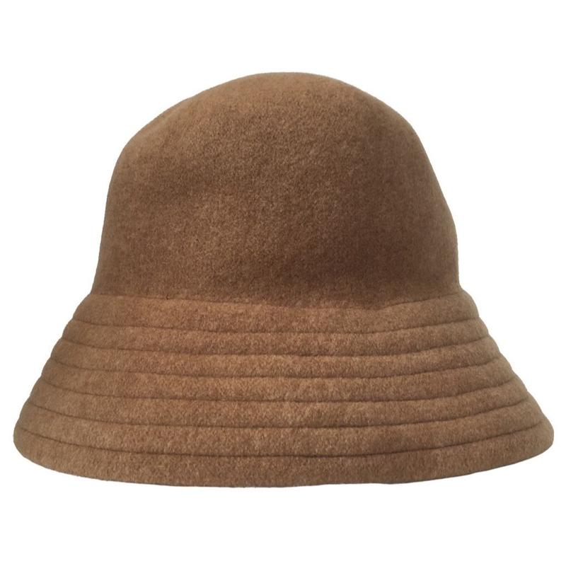 RWCHE / DOOM WOOL HAT / BROWN
