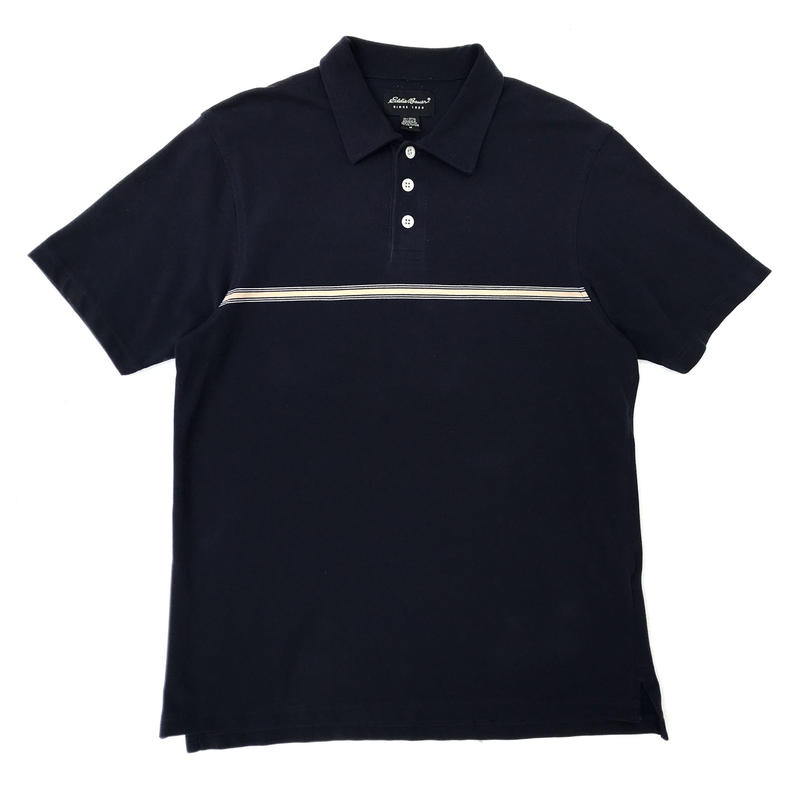 Eddie Bauer / S/S Polo Shirt / Navy / Used