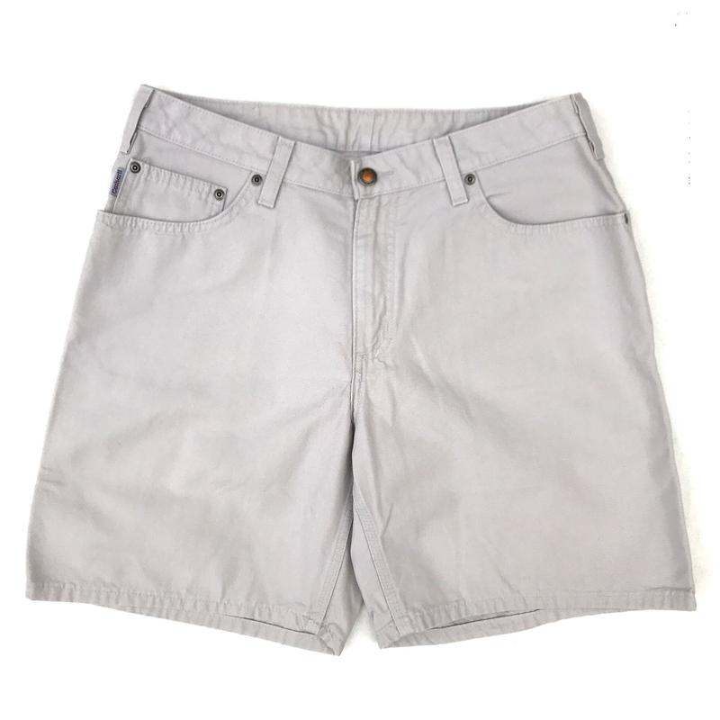 Carhartt / Duck Work Short  /  Ivory / Used