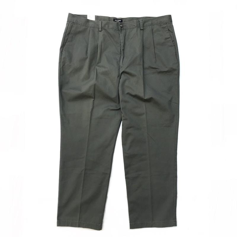 Dead stock / DOCKERS / Cotton 2Tuck Slacks  / Khaki / Used