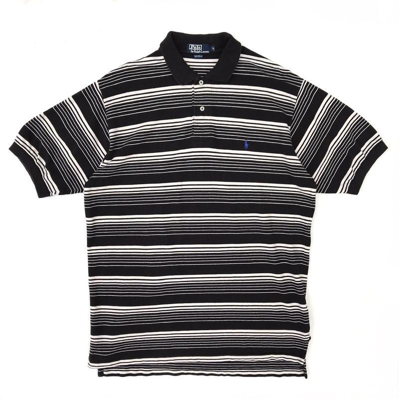 Polo Ralph Lauren / S/S Multi Border Polo Shirt / Used