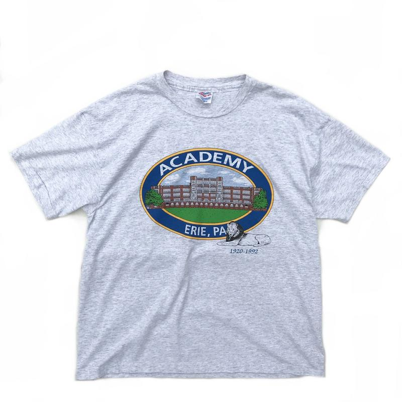 Made in USA / S/S TEE / Ash Grey / Used