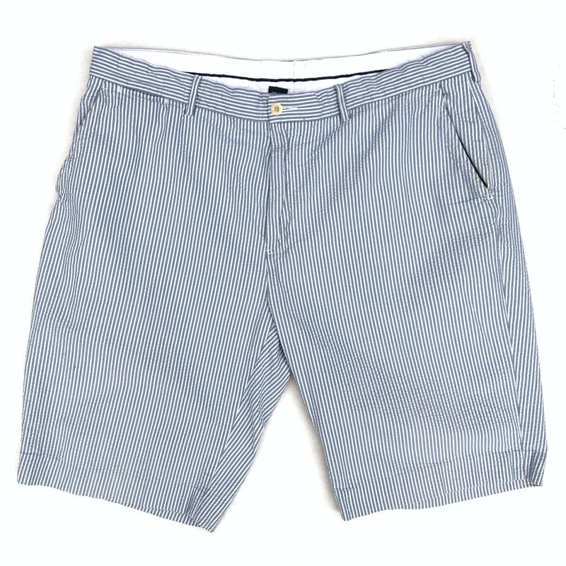 Polo Ralph Lauren / Seersucker Stripe Shorts / Blue / Used